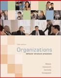 Organizations : Behavior, Structure, Processes, Ivancevich, John M. and Gibson, James L., 0072987170