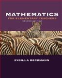Mathematics for Elementary Teachers plus Activities Manual, Beckmann, Sybilla, 0321447174