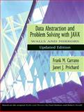 Data Abstraction and Problem Solving with Java, Walls and Mirrors, Carrano, Frank M. and Prichard, Janet J., 0321197178