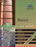 Masonry Level 1 Trainee Guide, NCCER, 0132287188