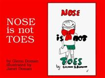 Nose Is Not Toes, Glenn Doman, 0895297183