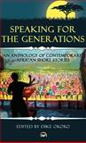 Speaking for the Generations : An Anthology of Contemporary African Short Stories, Okoro, Dike, 1592217184