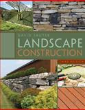 Landscape Construction, Sauter, David, 143549718X