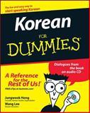 Korean for Dummies, Jungwook Hong, 0470037180