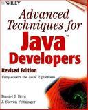 Advanced Techniques for Java Developers, Daniel J. Berg and J. Steven Fritzinger, 0471327182