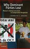 Why Dominant Parties Lose : Mexico's Democratization in Comparative Perspective, Greene, Kenneth F., 0521877199