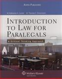 Introduction to Law for Paralegals : A Critical Thinking Approach, Currier, Katherine A., 0735567190