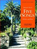 Five songs for voice and Piano, , 0193867192