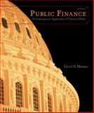 Public Finance : A Contemporary Application of Theory to Policy, Hyman, David N., 0324537190