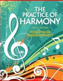 Practice of Harmony, Spencer, Peter and Bennett, Barbara, 0205717195