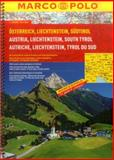 Austria/Liechtenstein/South Tyrol Marco Polo Road Atlas, Marco Polo, 382973719X