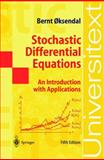 Stochastic Differential Equations : An Introduction with Applications, Oksendal, B., 3540637206