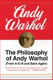 The Philosophy of Andy Warhol 1st Edition
