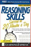 Reasoning Skills Success in 20 Minutes a Day 3rd Edition