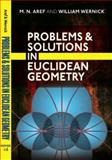Problems and Solutions in Euclidean Geometry, Aref, M. N. and Wernick, William, 0486477207