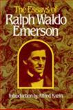 The Essays of Ralph Waldo Emerson, Ralph Waldo Emerson, 0674267206