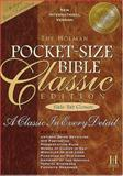 Bible New International Version Pocket Classic Deluxe Brit Tan with Slide, Bible, 1558197206