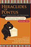 Heraclides of Pontus : Texts and Translation, Heraclides, 1412807212