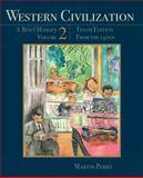 Western Civilization - A Brief History Vol. 2 : From The 1400's, Perry, Marvin, 111183721X