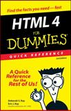 HTML 4 for Dummies, Deborah S. Ray and Eric J. Ray, 0764507214