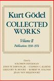 Collected Works Vol. II : Publications, 1938-1974, Godel, Kurt, 0195147219