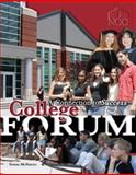 College Forum : A Connection to Success, Mcnerney, Norma, 075755721X