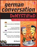 German Conversation, Swick, Ed, 0071627227