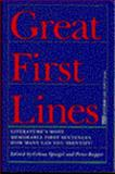Great First Lines, Celina Spiegel, 0449907228
