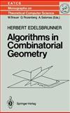 Algorithms in Combinatorial Geometry 9783540137221