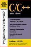 C/C++ Programmer's Reference, Schildt, Herbert, 0072227222