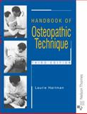 Handbook of Osteopathic Technique, Hartman, Laurie and Hartman, Lawrence Stephen, 0748737227