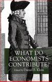 What Do Economists Contribute? 9780814747223