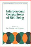 Interpersonal Comparisons of Well-Being, , 052145722X