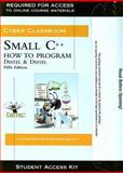 Small C++ Student Access Kit : How to Program, Deitel, 013236722X