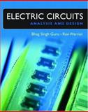 Electric Circuits : Analysis and Design, Guru, Bhag and Warrier, Ravi K., 0195177231