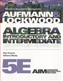 Algebra : Introductory and Intermediate - An Applied Approach, Aufmann, Richard N. and Lockwood, Joanne, 0538497238