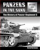 Panzers in the Sand, Bernd Hartmann, 0811707237