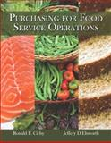 Purchasing for Food Service Operations 1st Edition