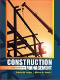 Construction Management, Halpin, Daniel W. and Senior, Bolivar A., 0470447230