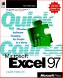 Quick Course in Microsoft Excel 97, Online Press, Inc. Staff, 157231723X
