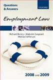 Q and A Employment Law 2008 And 2009, Benny, Richard and Sargeant, Malcolm, 0199237247