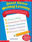 Great Genre Writing Lessons, Heather Clayton, 0439267242
