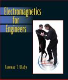Electromagnetics for Engineers, Ulaby, Fawwaz T., 0131497243