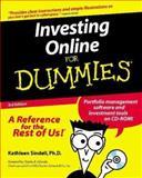 Investing Online for Dummies, Kathleen Sindell, 0764507257