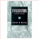 Evaluation, Weiss, Carol H., 0133097250