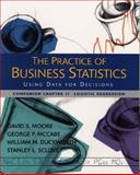 Business Statistics : Logistic Regression, Moore, David and Duckworth, William M., II, 0716757257