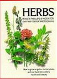Herbs, Roger Phillips, 0330307258