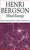 Mind-Energy, Henri Bergson, 0230517250