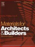 Materials for Architects and Builders 9780750657259