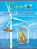 C++ How to Program, Deitel, Paul and Deitel, Harvey, 0136117260